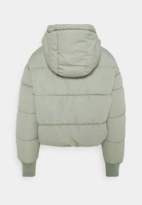 Monki - Winter jacket - khaki green dusty light - 1