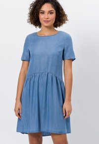 zero - Denim dress - mid blue soft wash - 0