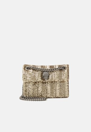 SEQUINS MINI KENS BAG - Sac bandoulière - gold-coloured