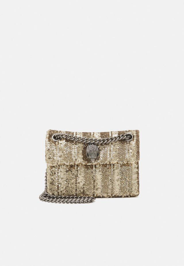 SEQUINS MINI KENS BAG - Axelremsväska - gold-coloured