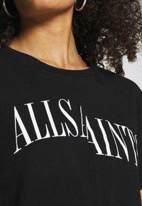 AllSaints - DROPOUT MIC - Print T-shirt - black - 6