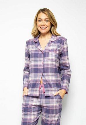 Pyžamový top - lilac chks