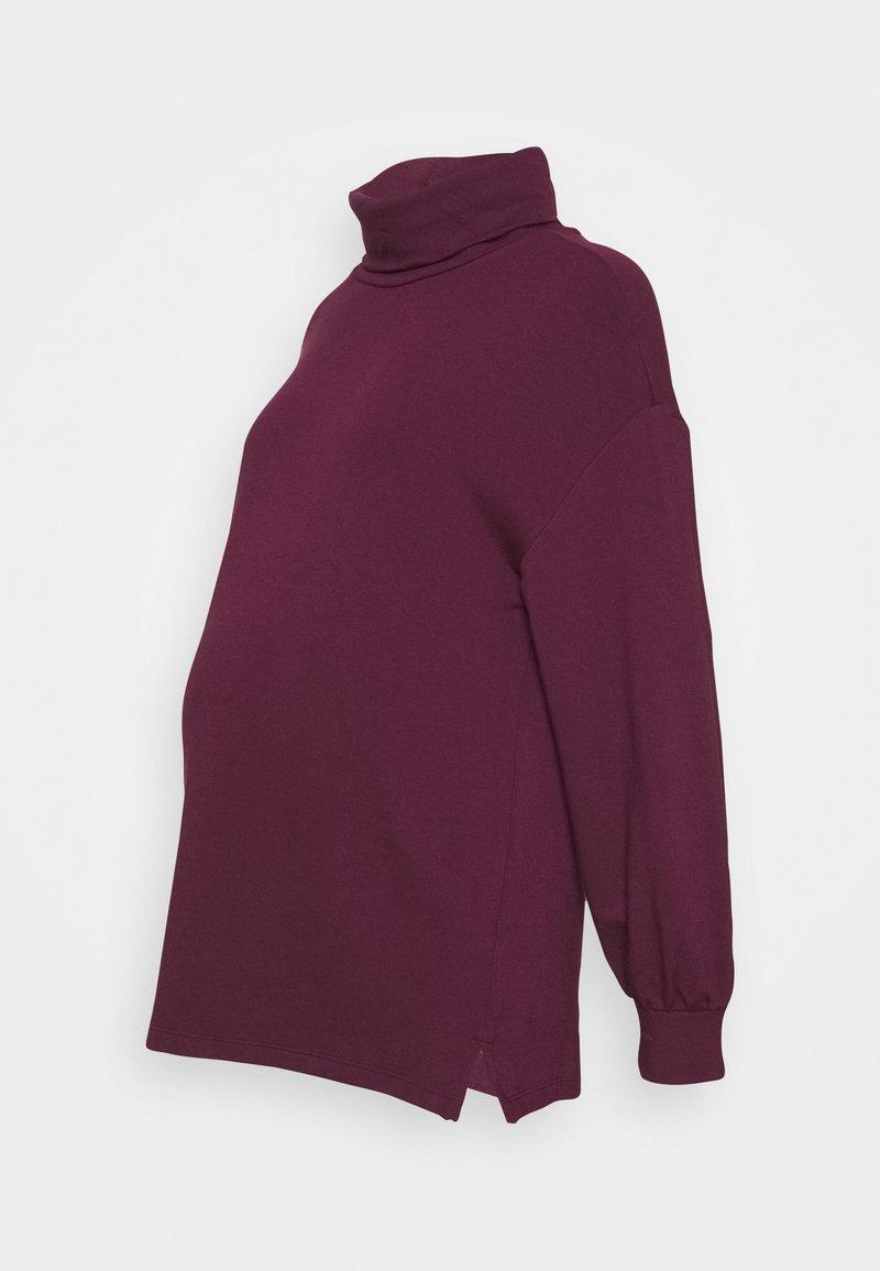 GAP Maternity - BABY TERRY - Sweater - secret plum