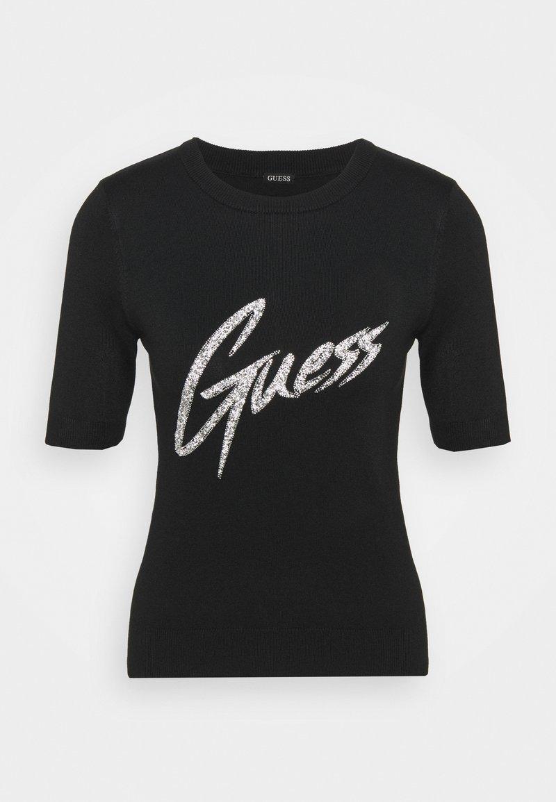 Guess - DEBORAH  - Print T-shirt - jet black