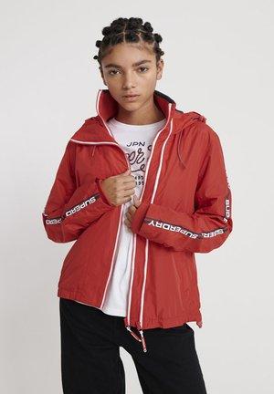 Light jacket - red/navy/white