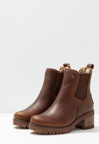 Panama Jack - PIA - Kotníkové boty na platformě - grass/bark - 4