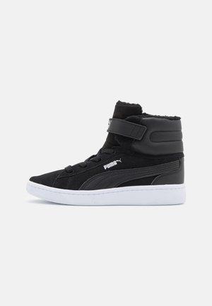 VIKKY MID - Baskets montantes - black/white
