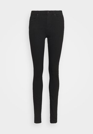 VMTANYA PIPING RAW - Jeans Skinny Fit - black