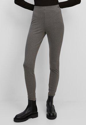 Leggings - Trousers - gray melange