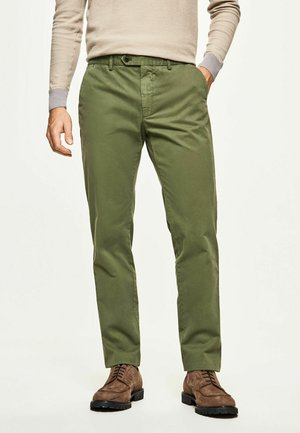 CORE SANDERSON - Trousers - moss green
