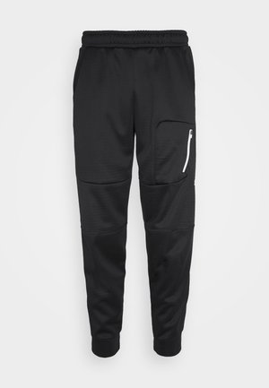EVOSTRIPE WARM PANTS - Tracksuit bottoms - black