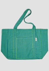 PULL&BEAR - KARIERTE - Tote bag - green - 1