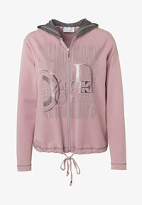 JUST WHITE - Zip-up hoodie - rose uni - 0