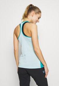 Salewa - AGNER HYBRID DRI REL TANK - Sports shirt - ocean - 2