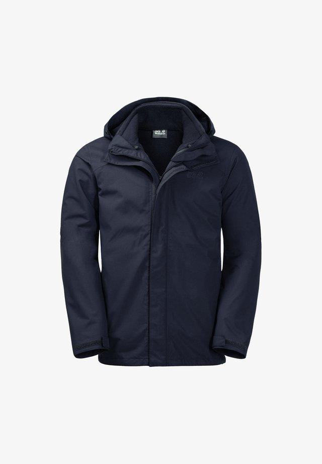 Hardshell jacket - night blue