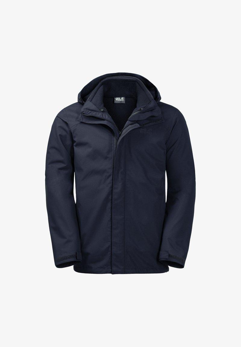 Jack Wolfskin - Hardshell jacket - night blue