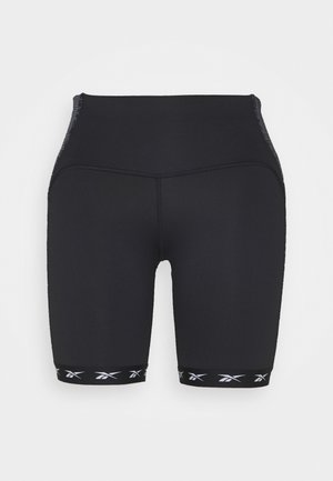 BIKE SHORT - Medias - black