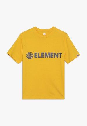 BLAZIN BOY - Print T-shirt - yellow