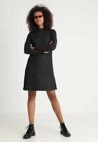 ONLY - ONLKLEO - Shift dress - dark grey melange - 1