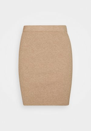 BYMALTO SHORT SKIRT - Mini skirt - golden sand