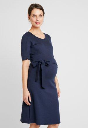 DRESS MUNICH - Žerzejové šaty - black iris