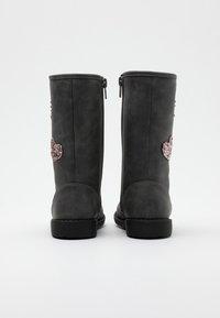 Friboo - Botas - dark gray - 2