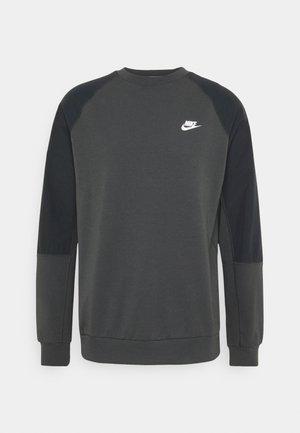 Sweatshirt - smoke grey/black/white