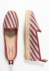 Bally - EDDHIE FLAT - Espadrilky - multicolor/red - 3