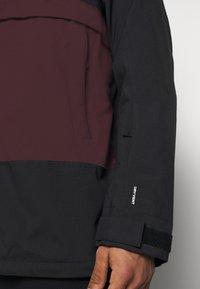 The North Face - SILVANI ANORAK - Ski jacket - bordeaux/black - 8