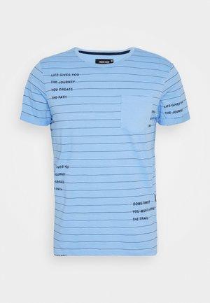 ECHOLS - Print T-shirt - alaska blue