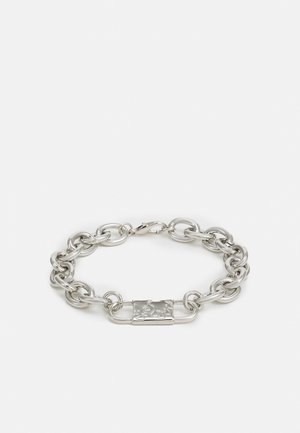 CHUNKY ID LINK BRACELET - Náramek - silver-coloured