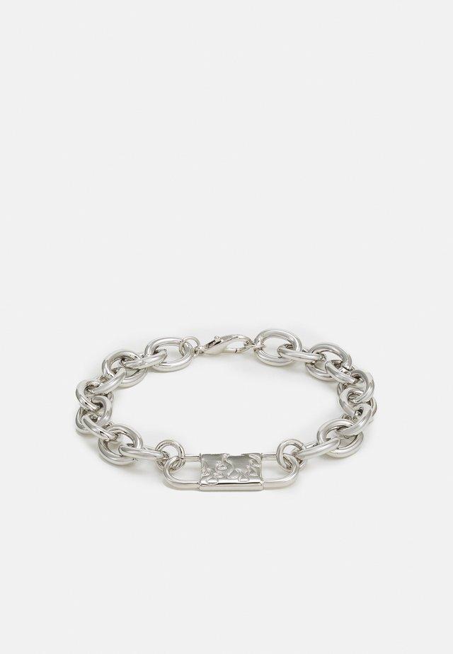 CHUNKY ID LINK BRACELET - Bracelet - silver-coloured