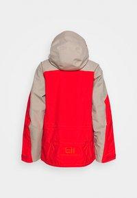 State of Elevenate - MENS BACKSIDE JACKET - Ski jacket - red - 8