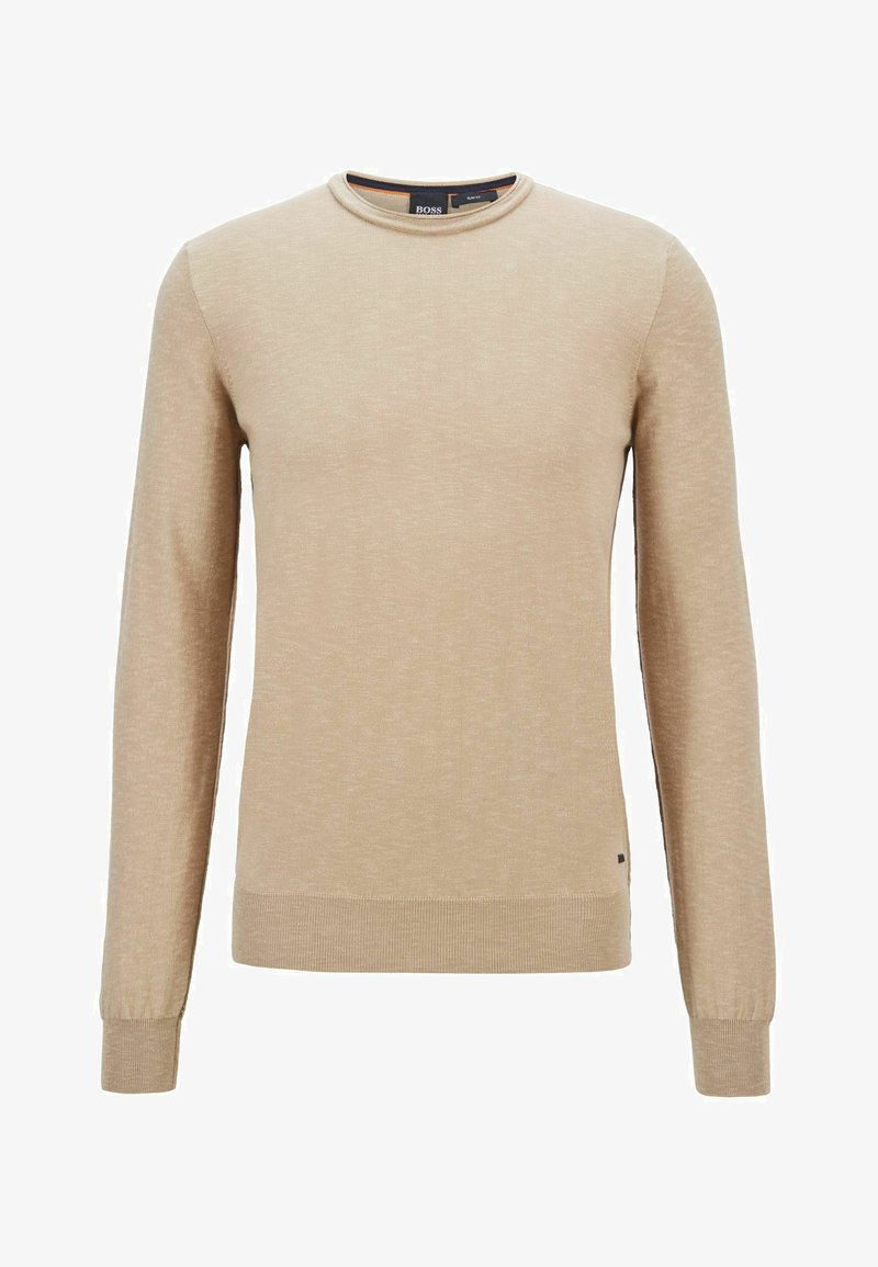 BOSS - AMIOX - Sweatshirt - beige