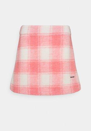 TWIGGY SKIRT - Minisukně - pink