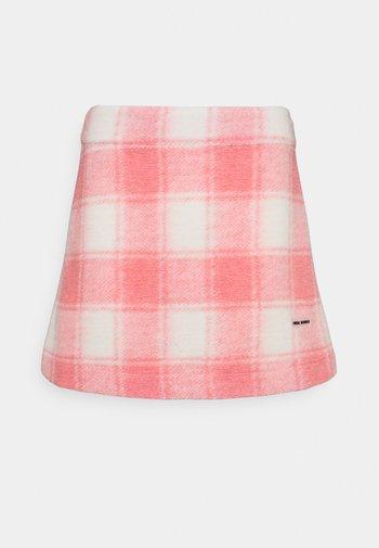TWIGGY SKIRT - Mini skirt - pink