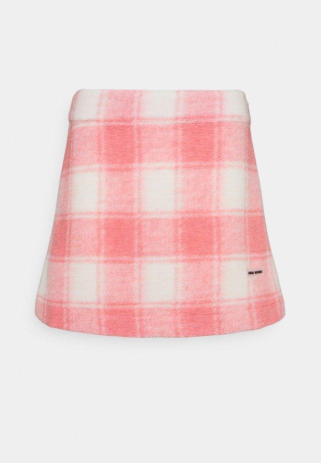 TWIGGY SKIRT - Minigonna - pink