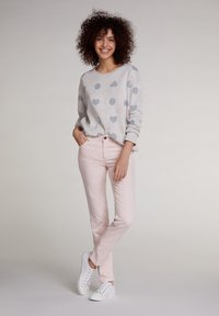 Oui - Slim fit jeans - peach whip - 1