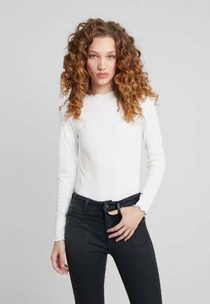 EXCLUSIVE LINDA - Long sleeved top - off white