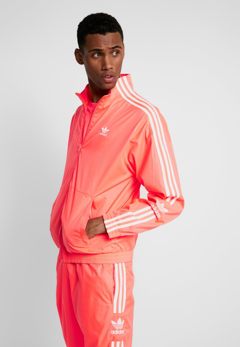adidas Originals - TRACKTOP - Kurtka sportowa - flash red