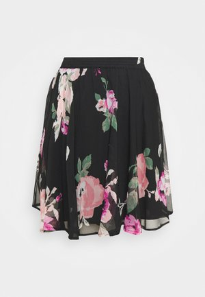 JUWAN SKIRT - Gonna a campana - lovely black