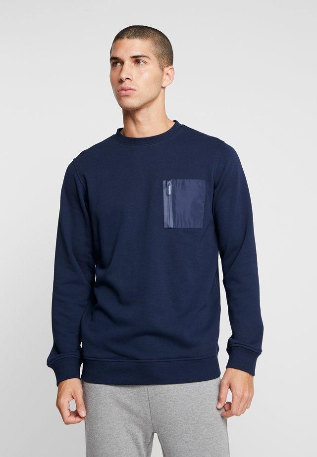 MILITARY CREW - Sweater - midnightnavy