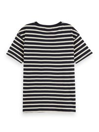 Scotch & Soda - STRIPED TEE - T-shirt print - combo - 5