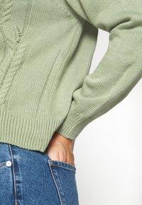 Trendyol - Cardigan - mint - 5