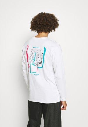 ZONE TEE UNISEX - Long sleeved top - white
