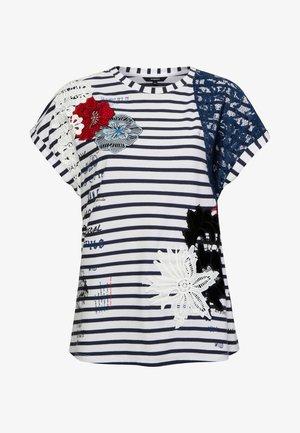 TS_REFRESH - T-shirt imprimé - white