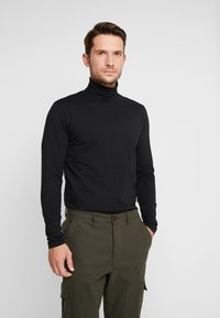 Casual Friday - CFSTEFAN - Long sleeved top - black - 0