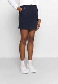 Lacoste Sport - GOLF SKIRT - Sports skirt - navy blue - 0