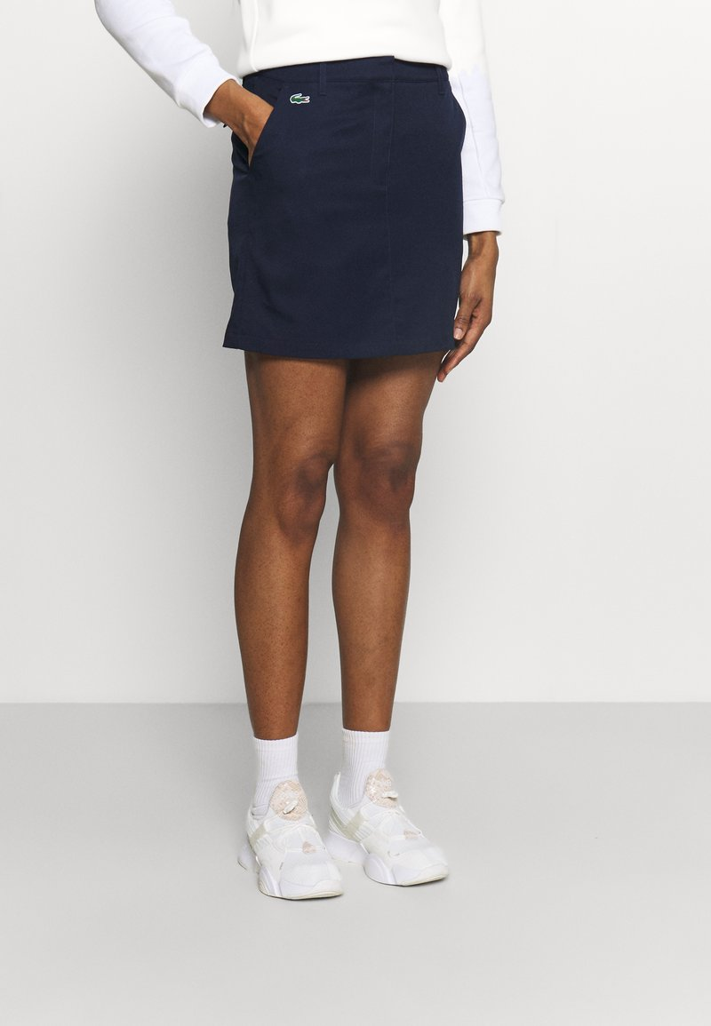 Lacoste Sport - GOLF SKIRT - Sports skirt - navy blue