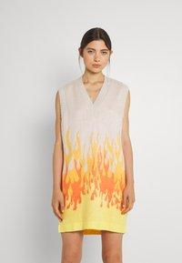 The Ragged Priest - RIDER VEST DRESS - Jumper dress - beige - 3
